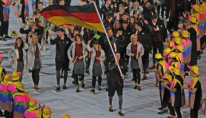 Olympia 2021 Fahnenträger