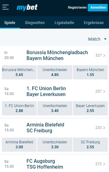 Mybet Bundesliga