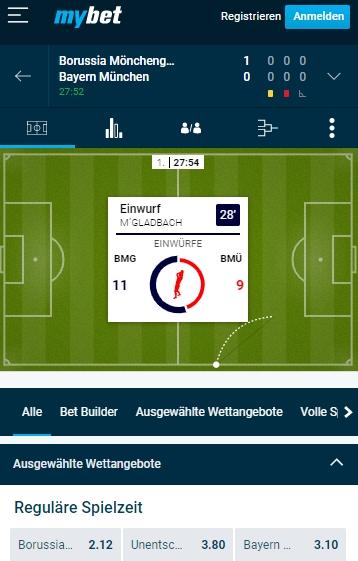 Mybet Bundesliga live