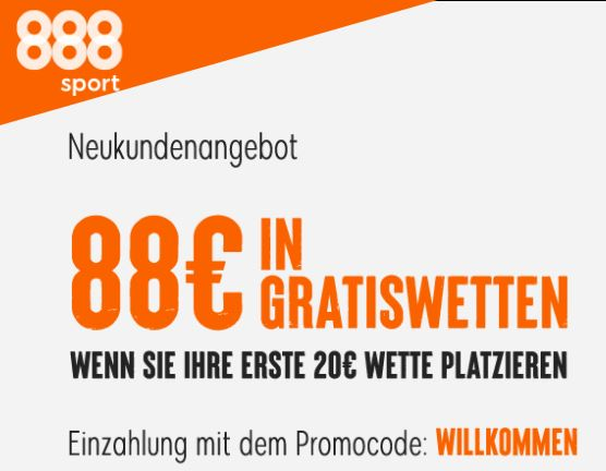 888Sport Gratiswetten Bonus