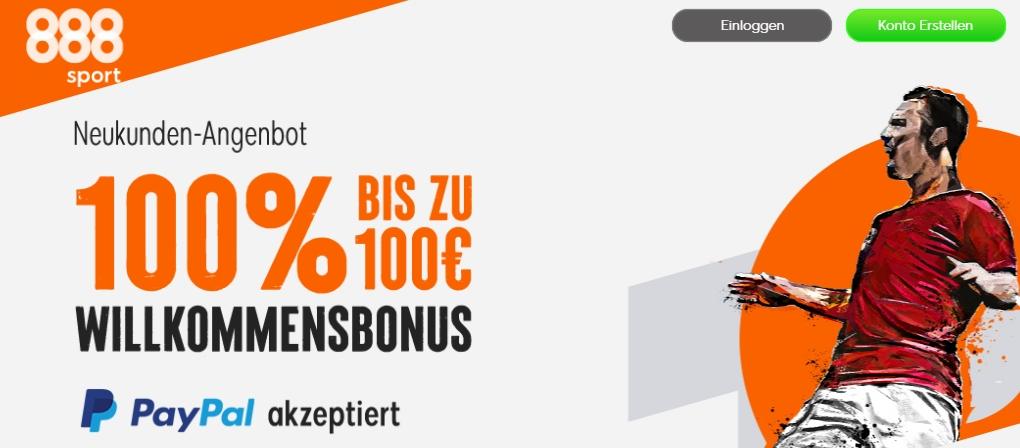 888Sports Neukundenbonus